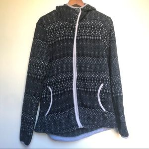 PrAna zip-up comfy jacket